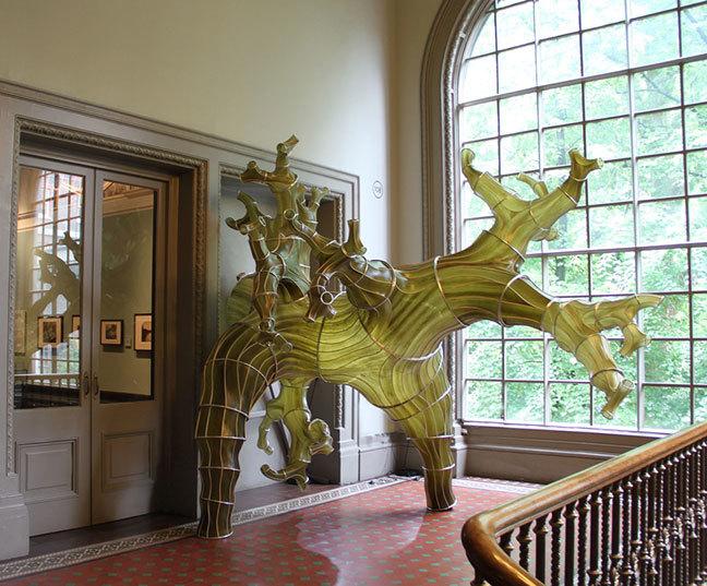 Oki Naganode: Victoria & Albert Museum, London, Julia Lohmann [2013]