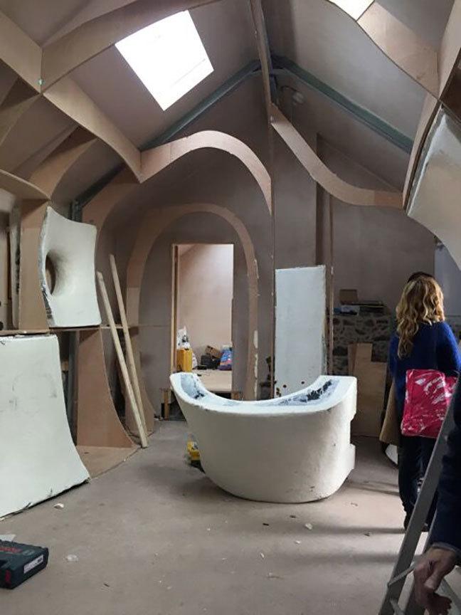 Ruins studio: Dumfries Scotland: LilyJencks_Nathanael Dorent [2016]